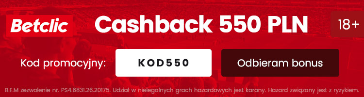 betclic polska bonus za darmo 2020